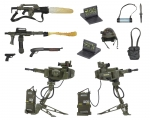 Aliens – Accessory Pack – USCM Arsenal Weapons Pack