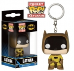 Batman Pocket POP Keychain Brelok Yellow