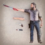 Rick Grimes Vigilante Deluxe The Walking Dead