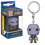 Pocket Pop! Keychain: Marvel - Avengers: Infinity War - Thanos  brelok