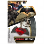 Brelok Batman vs Superman logo Bandable Key Chain