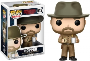 Pop! Television: Stranger Things - Hopper with donut