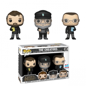 POP TV: Game of Thrones 3-Pack -Show Creators  NYCC exclusive limited