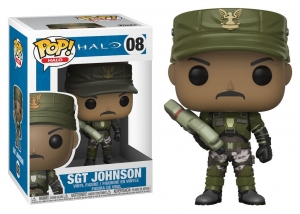 Funko Pop! Halo - Sgt Johnson