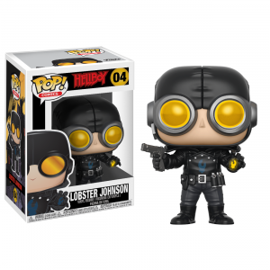 Pop! Comics: Hellboy- Lobster Johnson