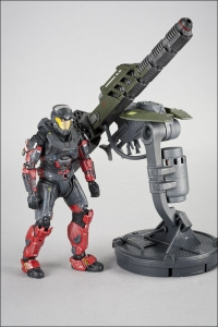 Gauss Cannon with Spartan Operator Halo Reach