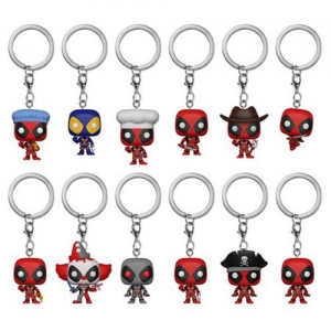 Mystery Pocket POP Keychain Marvel Deadpool brelok