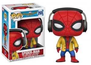 Spider-man with headphones Homecoming