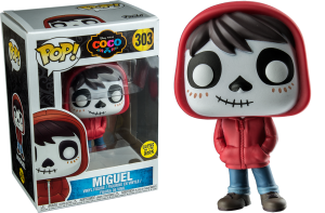 Funko Pop! Disney/Pixar Coco Miguel Exclusive Glows in the Dark