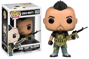 Pop! Games: Call Of Duty - John 'Soap' Mactavish