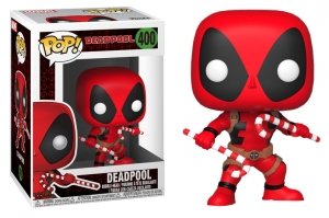 Pop! Marvel: Deadpool with candy canes