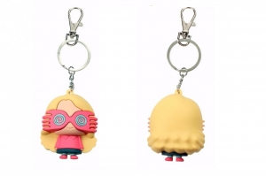 Harry Potter: Luna Lovegood Rubber Figurative Keychain