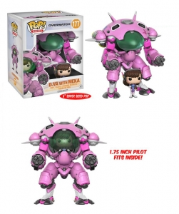 D.VA with Meka Overwatch