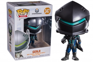 Pop! Games: Overwatch - Genji  Carbon Fiber exclusive