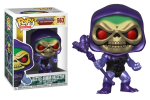 Pop! TV: Masters of the Universe - Battle Armor Skeletor metallic exclusive