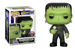 Pop! Movies: Universal Monsters -  Frankenstein with Flower exclusive