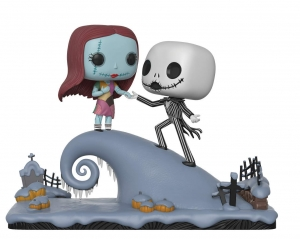 Movie Moment: Nightmare Before Christmas - Jack and Sally on the Hill