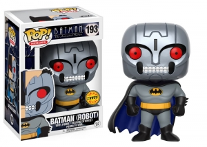 Pop! Heroes: Animated Batman - Batman (Robot) CHASE