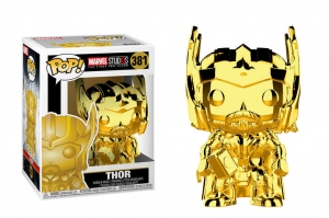 POP! Bobble: Marvel: Marvel Studios 10: Thor (Chrome) (1)