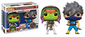 Marvel Vs Capcom Gamora Vs Strider Exclusive POP! Vinyl Figure 2