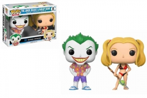 POP DC Beach Joker and Harley Quinn POP 2 Pack Exclusive