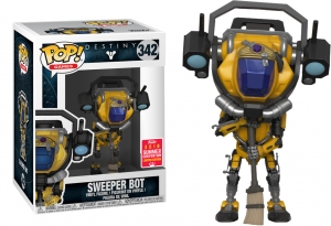 POP! GAMES: DESTINY- Sweeper Bot Summer Convention exclusive
