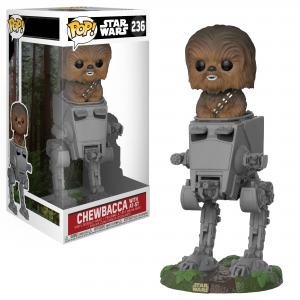 Pop! Star Wars: Chewbacca with AT-ST