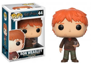 Pop! Movies: Harry Potter - Ron Weasley with Scabbers