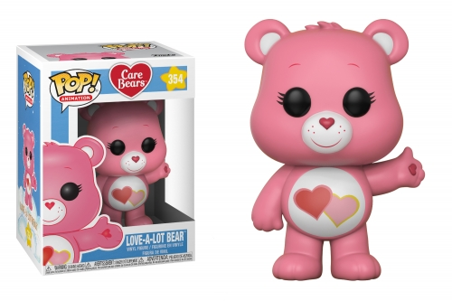 Pop! Animation: Care Bears - Love-A-Lot Bear POP!