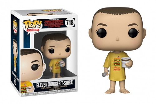 Pop Television: Stranger Things - Eleven (in Burger Tee)