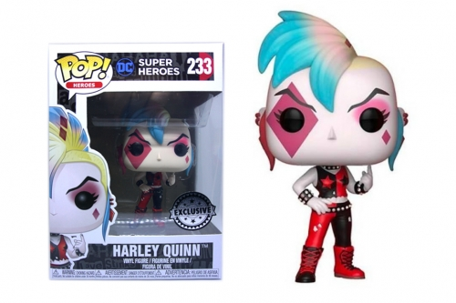 Funko POP! DC Super Heroes HARLEY QUINN Punk  Exclusive
