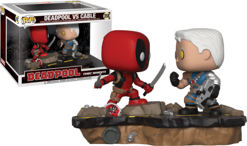 Deadpool - Deadpool vs Cable Comic Moments Pop! Vinyl Figure 2-Pack
