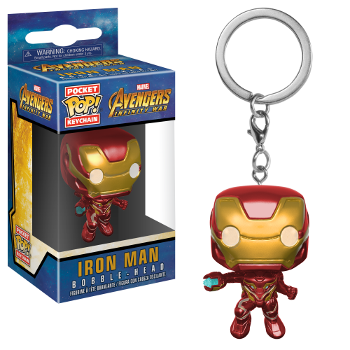Pocket Pop! Keychain: Marvel - Avengers: Infinity War - Iron Man POCKET POP! KEYCHAIN  brelok